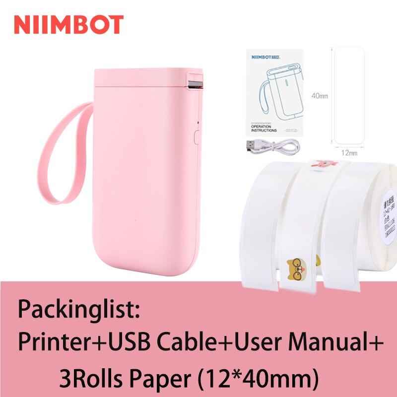 NIIMBOT D11/D61 этикеток портативный мини термальный принтер для печати этикеток машина с интерфейсом bluetooth кабель принтер для печати этикеток