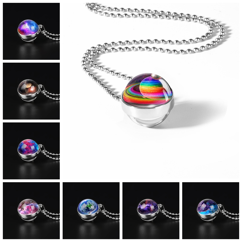 Outer Space Universe Necklaces