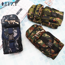 School Pencil Case for Boys Camouflage Big Pencil Case Multifunction Large Capacity Pen Box Bag Kids Gift Stationery Supplies все цены