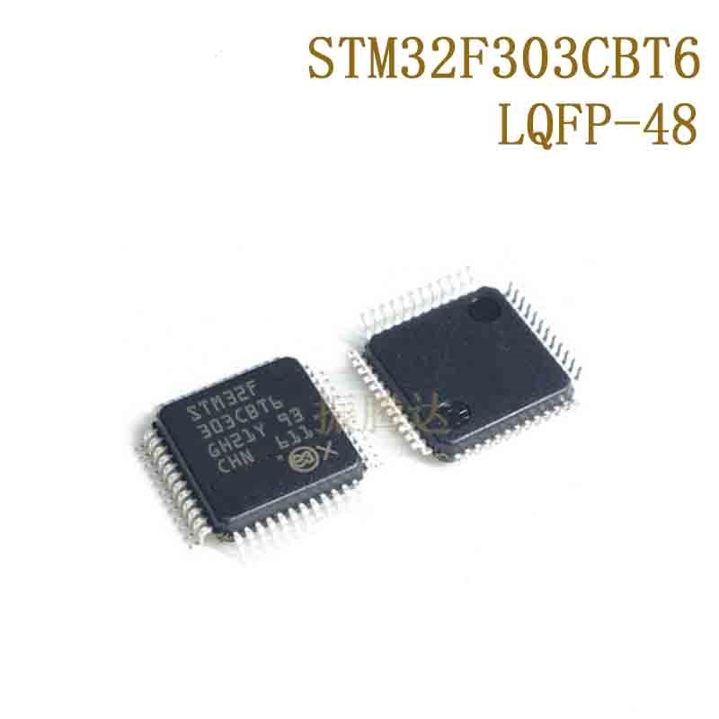 1pcs/lot STM32F303CBT6 STM32F303 QFP-48 In Stock