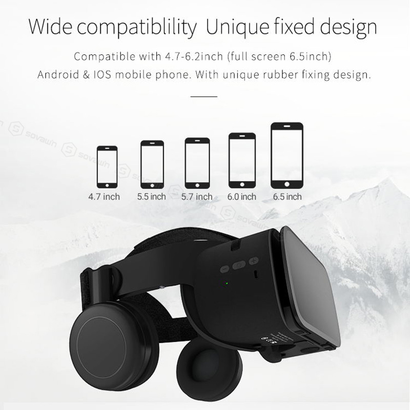 Original BOBOVR Z5 Update BOBO VR Z6 3D Glasses Virtual Reality Binocular Stereo Bluetooth VR Headset Helmet For iPhone Android