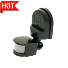 Interruptor de Sensor de movimiento PIR, Detector de movimiento infrarrojo, interruptor de iluminación automático, sistema de alarma