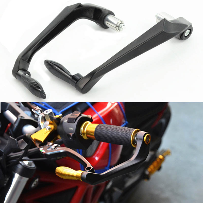 CNC Aluminum Motorcycle <font><b>Handlebar</b></font> Brake Clutch Levers Protector Guard For <font><b>Yamaha</b></font> R3 R25 Yzf <font><b>R1</b></font> Yzf R6 Handle Bar Moto Parts Bike image