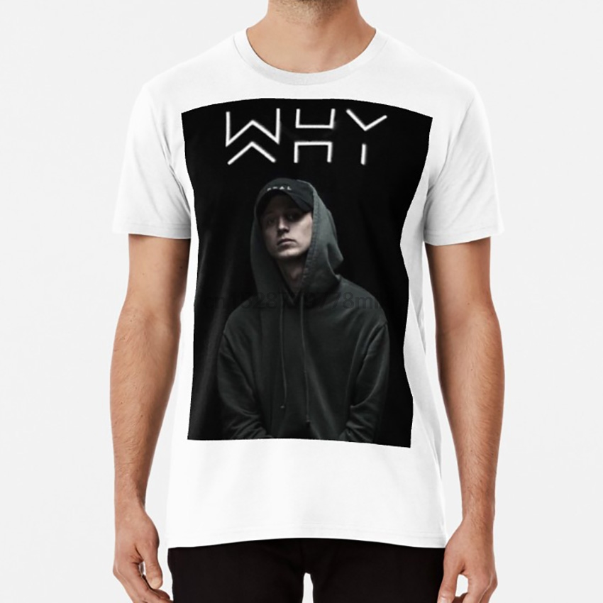 NF Real Music WHY tshirt  1