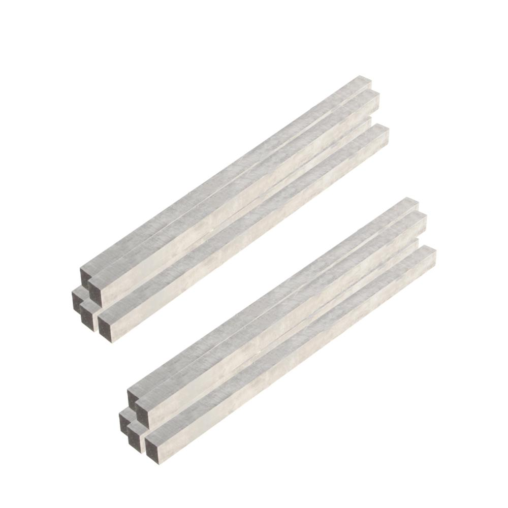 2/10pcs Lathe CNC HSS Square Cutting Tool Bits Bar Length 200mm X4/5/6/8/10/12mm Width/Height Cutting Tools For Milling Turning