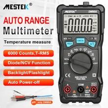 Mestek Digitale Multimeter 6000 Telt Hoge Snelheid Auto Range Tester Intelligente Ncv True Rms Temperatuur Universele Multimetro