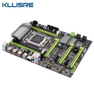 Image 3 - Kllisre X79 motherboard LGA2011 ATX USB3.0 SATA3 PCI E NVME M.2 SSD support REG ECC memory and Xeon E5 processor