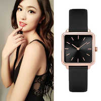 Mode Designer Marke Frauen Casual Kleid Platz Uhr Damen Armband Uhren Quarz Armbanduhren Relogio Feminino Uhr Uhr