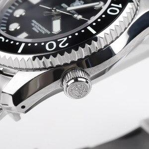 Image 4 - STEELDIVE 1968 SKX001 Automatic Watch Men Undefined Dive Watch 300M C3 Luminous Watch Men Automatic NH35A Mechanical Watches Men