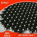 100 pçs 6mm 7mm 8mm crbon bolas de aço inoxidável para a caça pesca estilingue bb bolas ferramentas ao ar livre acessórios catapulta peças