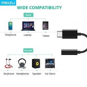 Image 5 - Originele Meizu Hifi Audio Dac 3.5 Mm Telefoon Type C Usb Adapter Kabel Hoofdtelefoon Versterker CS43131 Chip 600ou Pcm 32bit/384 K Dsd 128