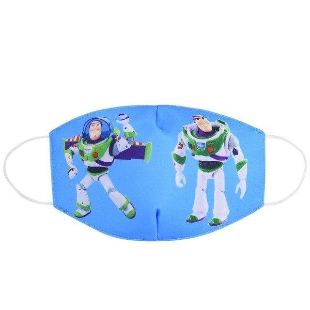 2020 Cotton Dustproof Mouth Face Mask Women Men Kids Cartoon Breathable Protection K-POP Masks ZXT225 1