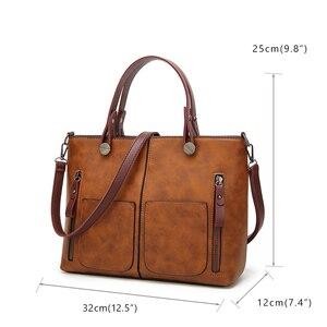 Image 3 - Tinkin sac à bandoulière Vintage pour femmes, fourre tout décontracté pour le Shopping quotidien
