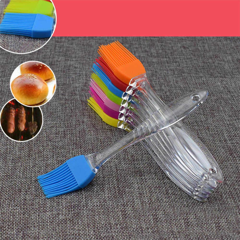 Cepillo para hornear pan de silicona para barbacoa herramientas de cocina DIY cepillos de limpieza mágicos cepillos de lavado de fácil limpieza