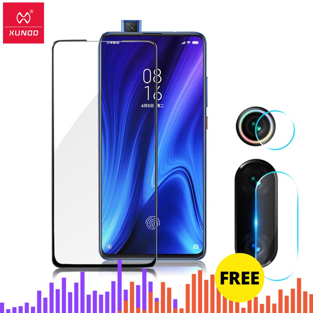 For Xiaomi Redmi K20 K20 Pro Note 7 8 Mi 9t Mi9 T Pro Protective Tempered Glass 2.5D 9H Full Phone Screen Protectors Phone Film