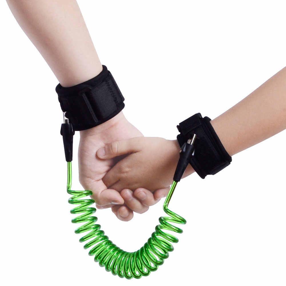 אנטי איבד יד קישור אלסטי חוט חבל חיצוני הליכה צמיד רצועת רצועת פעוט בטיחות לרתום ילדי תינוק בטיחות רצועה