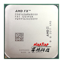 AMD FX Series FX 8140 FX 8140 3.2 GHz Eight Core CPU Processor FD8140WMW8KGU Socket AM3+