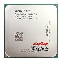 AMD FX Series FX 8140 FX 8140 3.2 GHz ośmiordzeniowy procesor cpu FD8140WMW8KGU gniazdo AM3 +