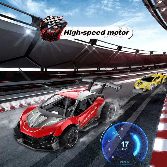 Eachine EC06 1:14 2.4GHZ 4CH High Frequency Alloy Remote Control High-speed Moter RC Racing Car 2