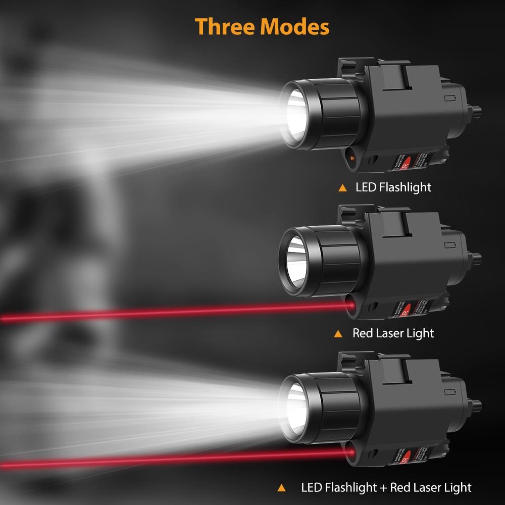 arma tatica luz militar led arma luz 04