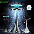Magnetische Suspension Schwebenden led tisch lampe mit UFO lautsprecher bluetooth Surround Sound BT lautsprecher kreative geschenke nacht lichter