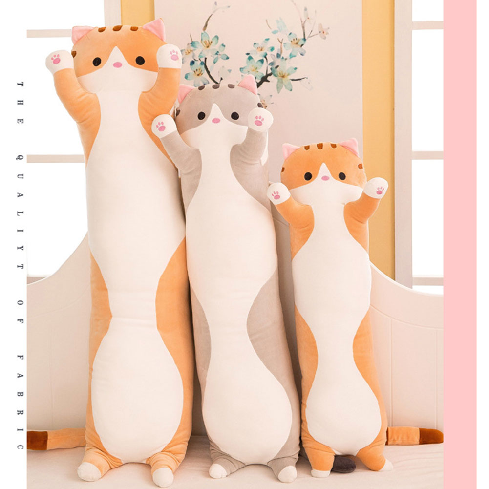 Image 5 - Cute plush cat doll soft filled kitten pillow doll toy gift for kids girlfriend toy sofa HUG Deals-in Decorative Pillows from Home & Garden