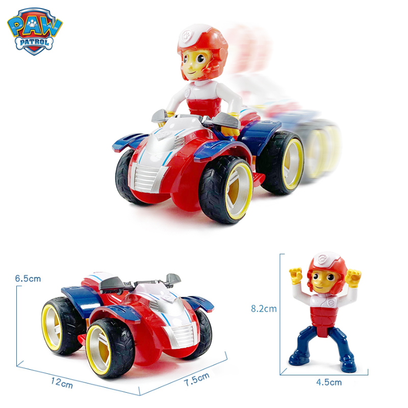 Paw Patrol Dogs Set Toys Puppy Patrol Cars Patrulla Canina Ryder Anime Action Figures Model Kids Birthday Gifts 2020