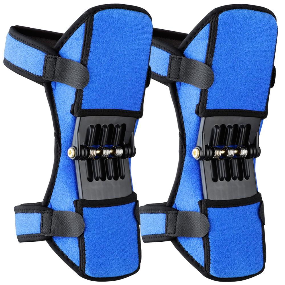 MrY New Power Lift Joint Support Knee Pads Breathable Non-slip Powerful Rebound Force Knee Booster Joint Sport Protective Gear