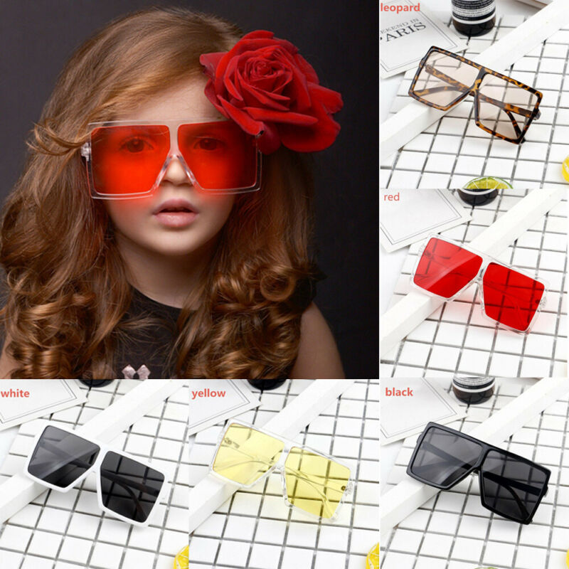 2020 Children Fashion Eyewear Glasses Newborn Infant Kids Girls Boys Sunglasses Summer Holiday Casual Beach Sun Glasses