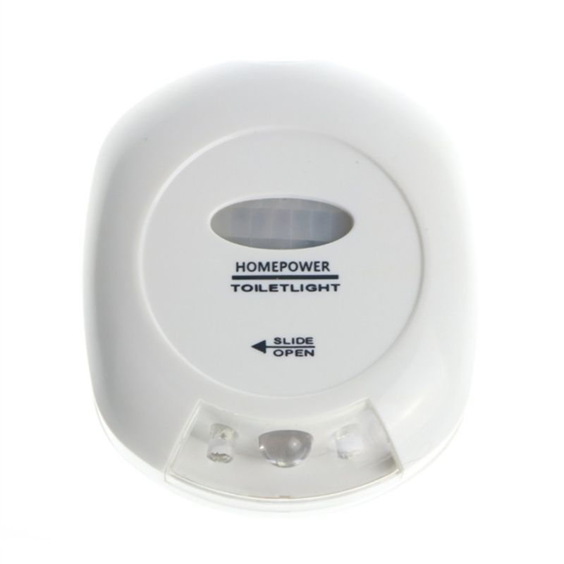 2 Colors LED Motion Toilet Night Light Activated Sensor Bathroom Seat Lamp Safe
