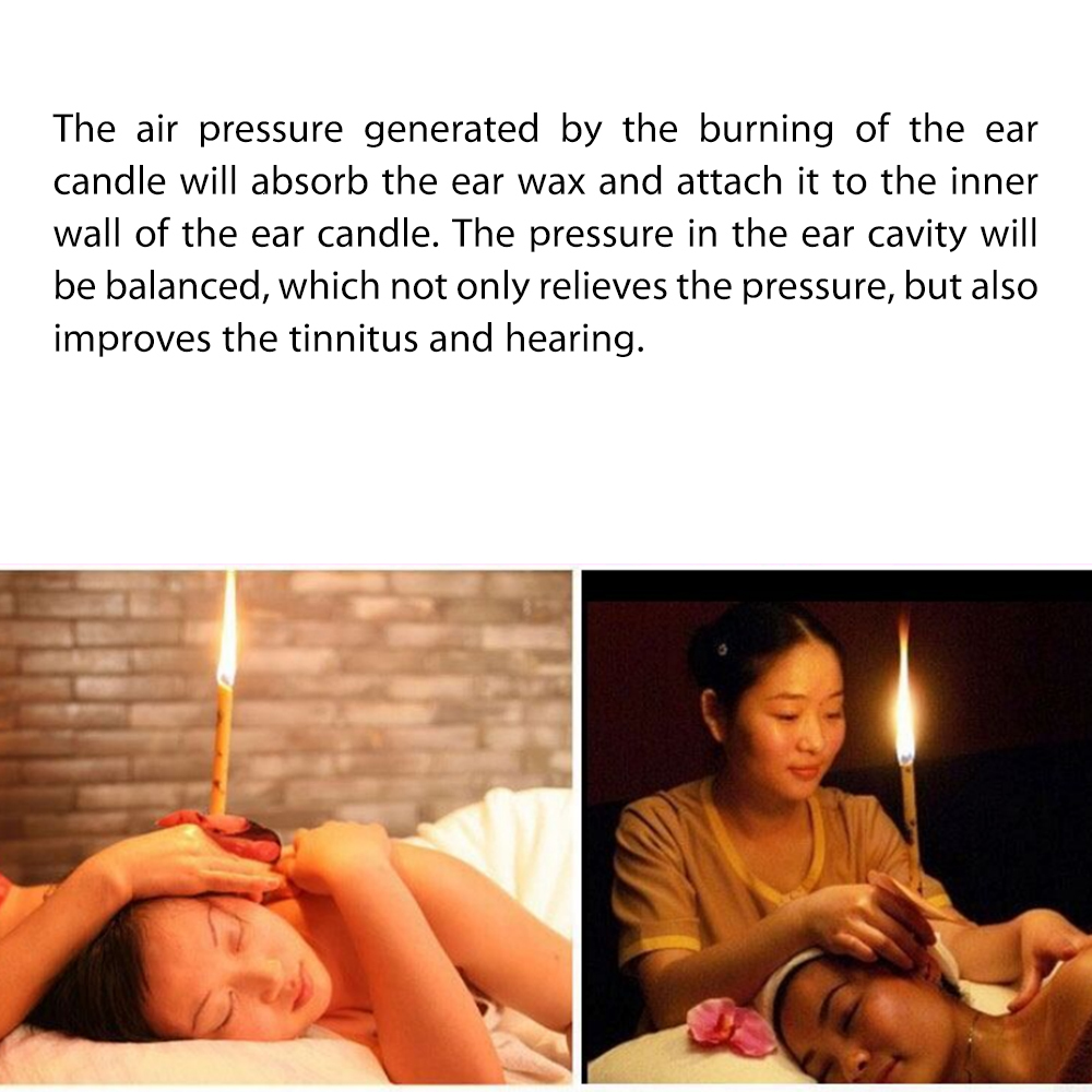 6NATURAL EAR CANDLING HEALTHY CARE EAR