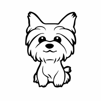 PLAY COOL Funny Yorkie Yorkshire Terrier Doggy Cute Car Sticker Fun Dog Automobiles Motorcycles Exterior Accessories Vinyl Decal car sticker dont touch my car fun automobiles