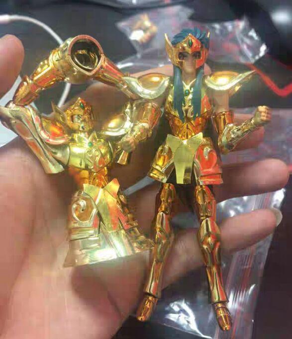 En stock or OCE verseau Camus avec objet saint figurine poupée jouet modèle DDP 10CM