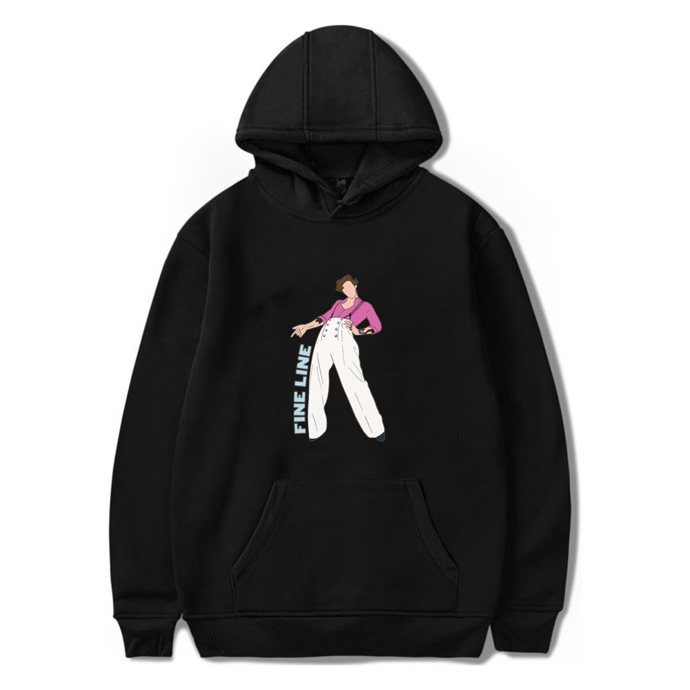 2020 New Autumn Winter Mens Sweatshirt Kpop Fine Line Harry Style Hooded Hoodie Sweatshirt For Male Boys Fashion Womens Clothing