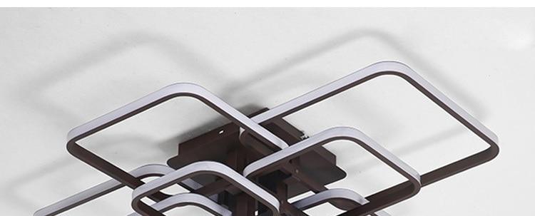 de teto alumínio sala estar jantar quarto luzes lustre lamparas techo