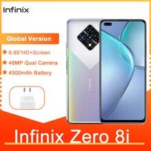 Infinix Zero 8i Global Version 8GB 128GB 6.85'' FHD 90Hz Full Screen 48MP Quad Camera 4500mAh Battery Cheap Mobile Phones