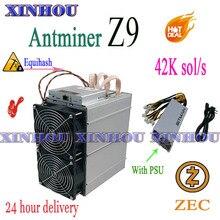 Asic AntMiner Z9 42k d'occasion, avec PSU Equihash ZEC ZEN BTG BTC, mieux que Z11 Z9 mini Z15 s9 S17 Innosilicon A9 M20S M3 A10