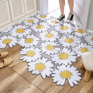 Daisy Home Door Mats PVC Anti-Slip Floor Mat Carpet Bathroom Kitchen indoor Kitchen Bathroom Living Room Door Mat Rug