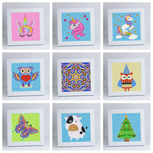 New Arrival Irregular Diamond Painting 5D DIY Mosaic Embroidery Cross Stitch Home Decoration Kids Gift
