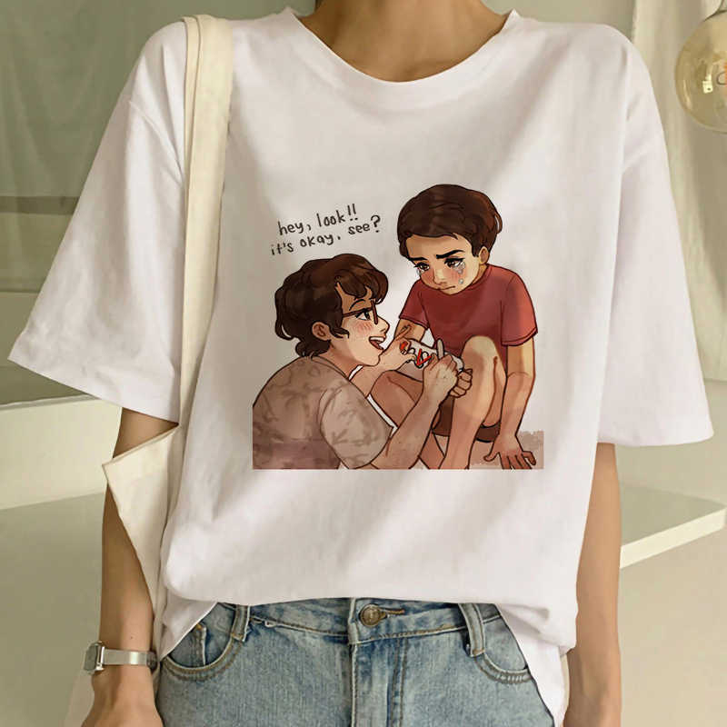"The Loser Lover Vintage Gothic Summer New Movie It lo""club estetica T Shirt Graphic Harajuku tees moda abbigliamento donna"