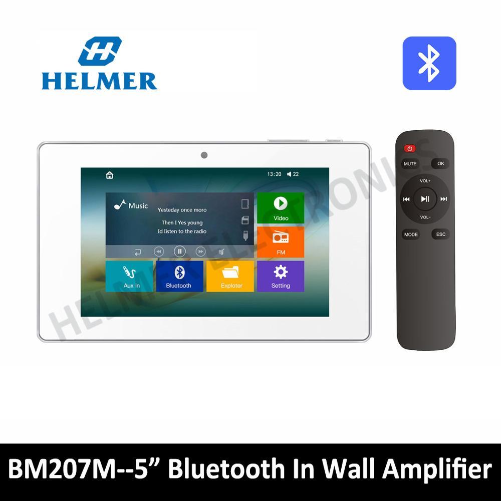 5 сенсорный экран в стеновом усилителе, домашняя Аудио Видео музыкальная система, Bluetooth цифровой стерео усилитель, домашний кинотеатр цифровой кинотеатр