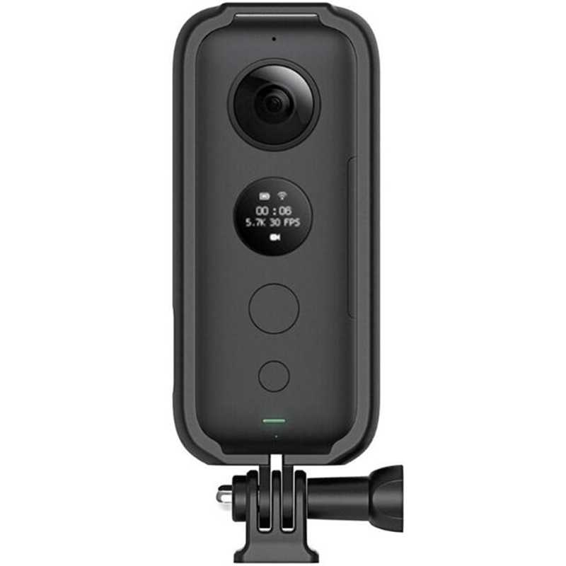 Suitable for Insta360 One X Panoramic Camera Frame 1/4 Bracket Full Body Protection Frame