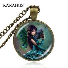 Karairis 2020 детский кулон Дамское ювелирное ожерелье круглая