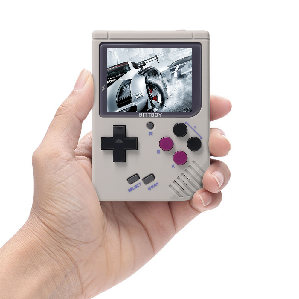 Video Game Console New BittBoy - Version3.5 - Retro Game Handheld Games Console Player Progress Save/Load MicroSD card External 1