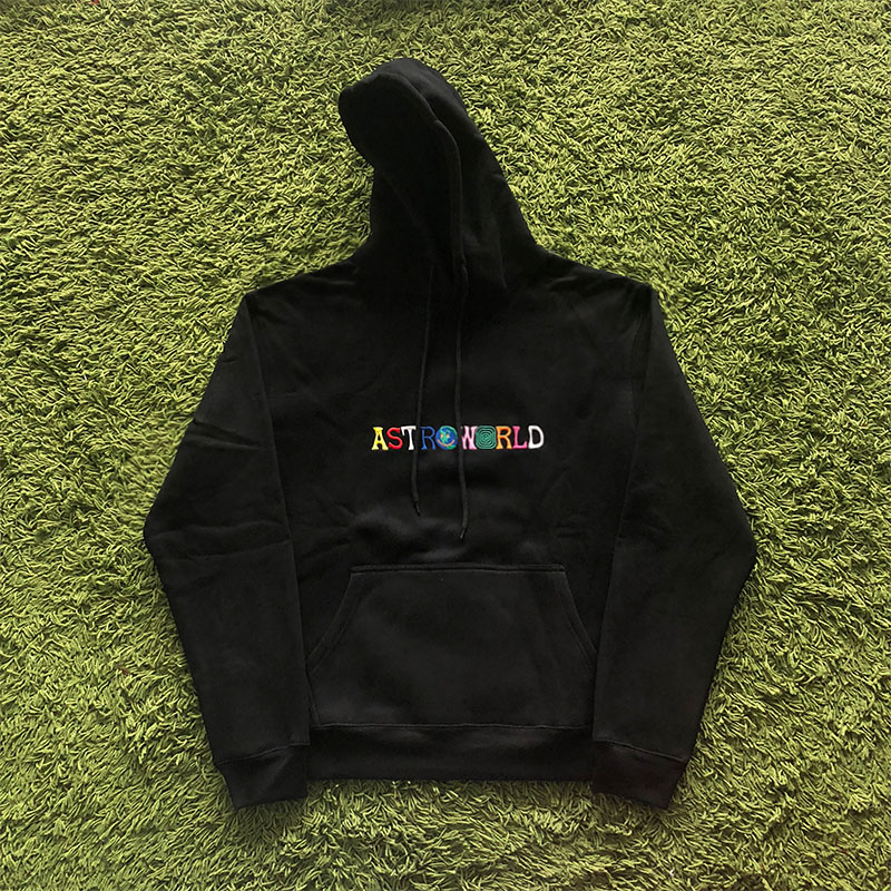 Embroidery Travis Scott ASTROWORLD Hoodies Men Women Sweatshirts Best Quality Casual Travis Scott Astroworld Hoodies