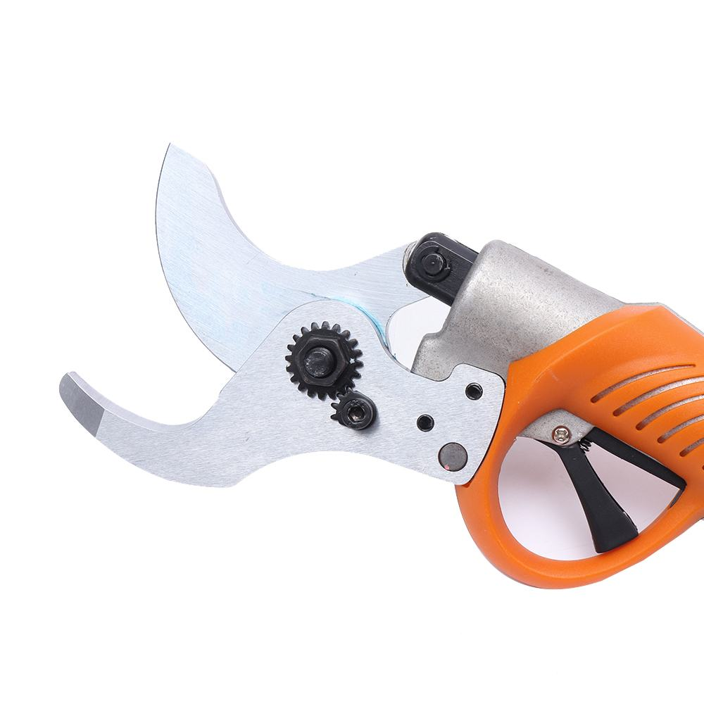 Rechargeable 45mm Electric Garden Scissors for Branches Pruning and Grass Trimming 2