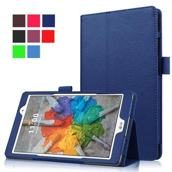 цена на 2018 Cover Case for LG G Pad 3 8.0 V525 V521 V520 PU Leather Stand Case for LG Gpad 3 Iii 8.0 V525 Tablet Cover Case