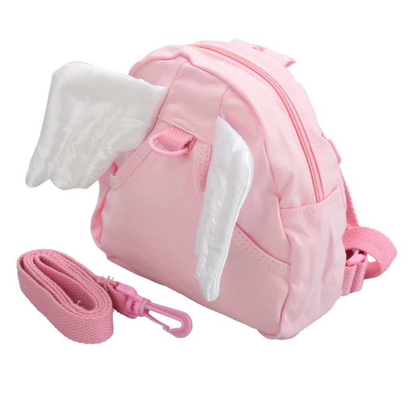 Baby Children Infant Toddler Kids Angel Wings Walking Safety Backpack Bag Harness Learning Learn To Walk Walker Assistant Helper
