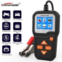 Testeur professionnel de batterie de voiture de moto 6V 12V, analyseur de batterie 2000 CCA, outil de Diagnostic de charge rapide