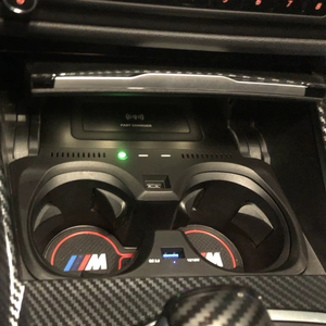 Cargador de coche inalámbrico para teléfono móvil usb para BMW 3 Series 2020 G20 G28 10W iphone rápido Huawei Xiaomi otro cargador de coche para teléfono móvil